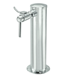 Micro Matic Stainless Steel Wine Tower - Single Faucet [D4743T-W]