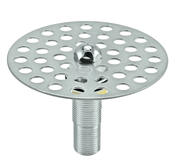 Micro Matic Stainless Steel Perforated Spray Glass Rinser - 4 1/2""