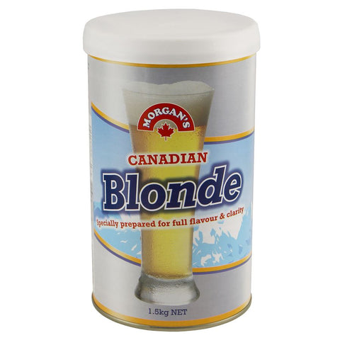 Morgan's Beer Kit - Canadian Blonde - 1.5kg
