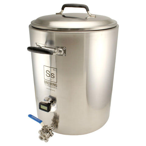 10 Gallon SS Brewtech Mash Tun Kettle