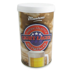 Muntons Beer Kit - American Light Lager