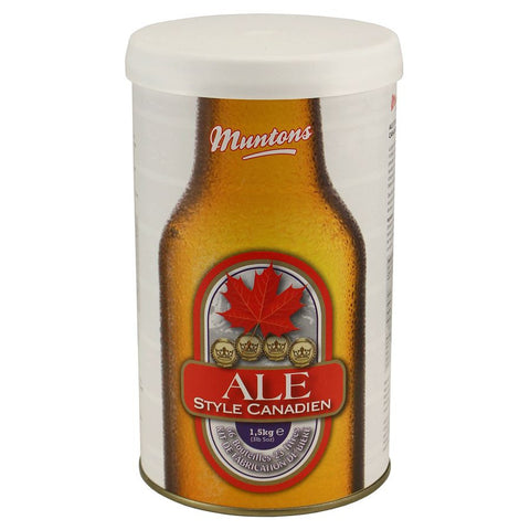 Muntons Beer Kit - Canadian Style Ale