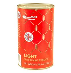 Muntons Liquid Malt Extract (LME) Syrup - Light/Gold - 3.3 lb