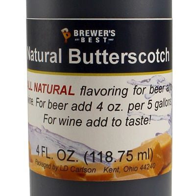 Natural Butterscotch Flavour Extract (4oz)