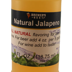 All Natural Jalapeño Flavouring - 4 fl oz (118 ml)