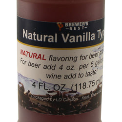 All Natural Vanilla Flavouring - 4 fl oz (118 ml)