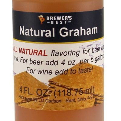 Natural Graham Cracker Flavour Extract (4oz)