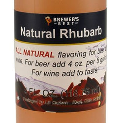 Natural Rhubarb Flavour Extract (4oz)