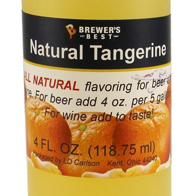 Natural Tangerine Flavour Extract (4oz)