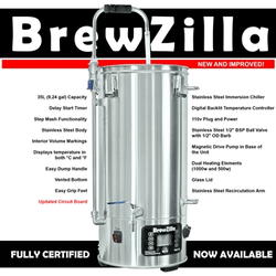35L BrewZilla V3.1.1 All Grain Brewing System
