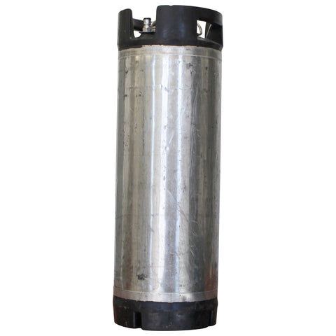5 Gallon Stainless Steel Dual Handle Ball Lock Keg - Reconditioned
