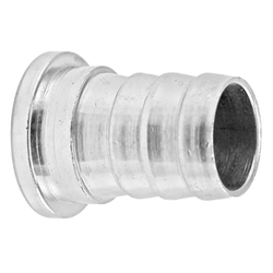 "Stainless Steel Shank Tail Piece - 1/2"" OD Barb"
