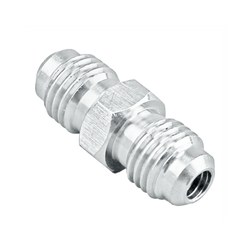 "Stainless Steel Flared Union Coupler - 1/4"" MFL"