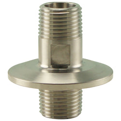 "Stainless Steel Tri-Clover Fitting - 1/2"" Male NPT to 1.5"" TC"