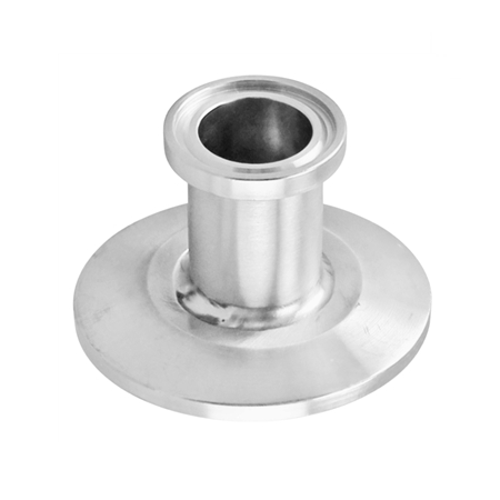 "Stainless Steel Tri-Clover Reducer - 1.5"" TC to 3/4"" TC"