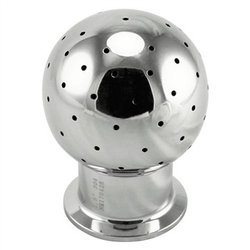 "Stainless Steel 316 Tri-Clover Stationary CIP Spray Ball – 2"" TC"