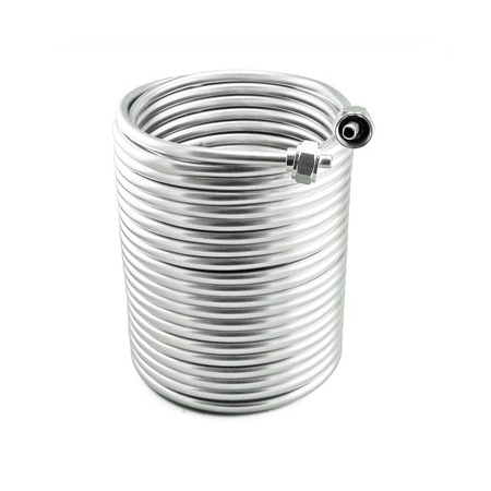 Stainless Steel Jockey Box Dual Coil - 70' of 3/8""