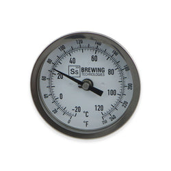 SS Brewtech Bimetal Thermometer - Canadian Homebrewing Supplier - Free Shipping - Canuck Homebrew Supply