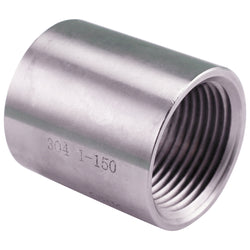 "1"" Female NPT to 1"" Female NPT Stainless Steel Coupler"