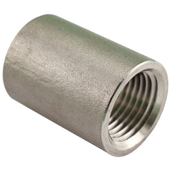 "1/2"" Female NPT to 1/2"" Female NPT Stainless Steel Coupler"