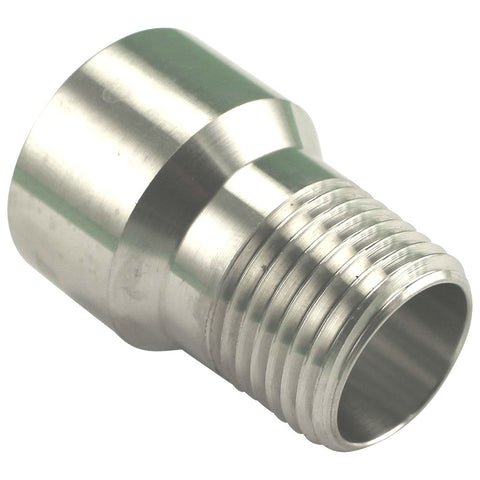 "Stainless Steel Extension - 1/2"" Female NPT to 1/2"" Male NPT"