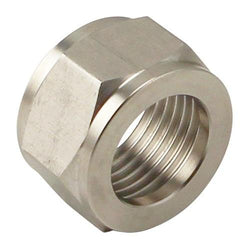 Stainless Steel Hex Beer Nut - Canadian Homebrewing Supplier - Free Shipping - Canuck Homebrew Supply