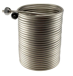 Stainless Steel Jockey Box Coil - 100' x 5/16""