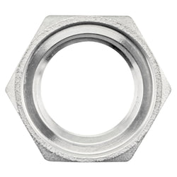 "Stainless Steel Grooved Nut - 1/2"" NPS"