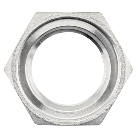 "1/2"" NPS Stainless Steel Grooved Nut"