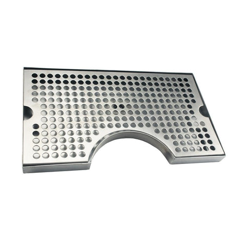 Surface Cut-Out Drip Tray With Drain