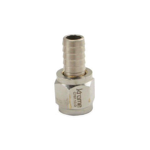"Stainless Steel Swivel Nut - 5/16"" Barb"