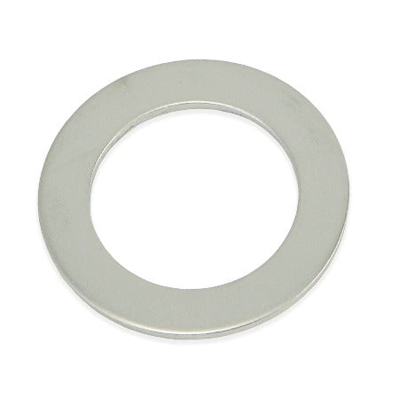 "Stainless Steel Slim Washer - 1 1/2"" ID"
