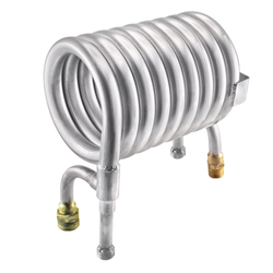 Stainless Steel Convoluted Counterflow Wort Chiller - Garden Hose