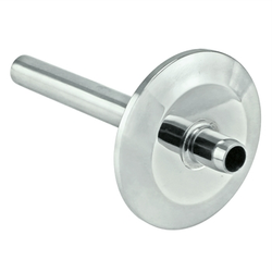 "Ss Brewtech Stainless Steel Tri-Clover Thermowell - 1.5"" TC (3"" Length)"