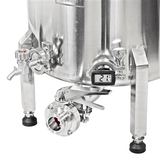 Ss Brewtech Booch Tank - 10 Gallon - Bottom View