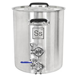 Ss Brewtech Tri-Clover Brew Kettle - 10 Gallon