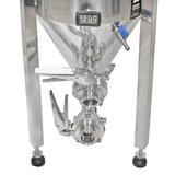 Ss BrewTech 17 Gallon (Half Barrel) Chronical Fermenter - Brewmaster Edition - Butterfly Valves