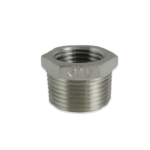 "SS Brewtech Reducer Bushing - 3/4"" Male NPT x 1/2"" Female NPT - Canadian Homebrewing Supplier - Free Shipping - Canuck Homebrew Supply"