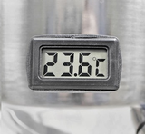Ss BrewTech One Barrel Chronical Fermenter - LCD temperature gauge