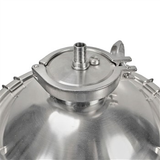 Ss BrewTech One Barrel Chronical Fermenter - Top View