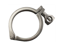 "3"" Tri-Clover Clamp - 304 Stainless Steel - Ss Brewtech"