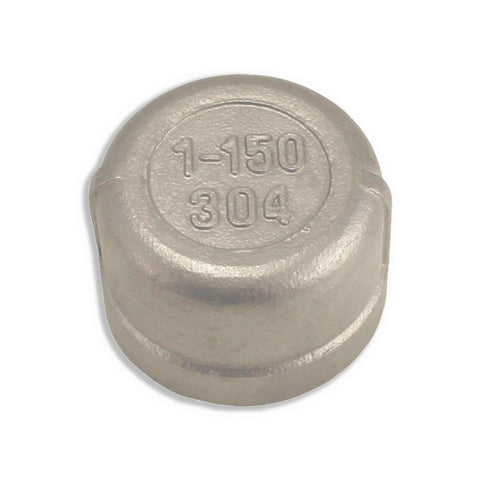 "Stainless Steel End Cap - 1"" FPT"
