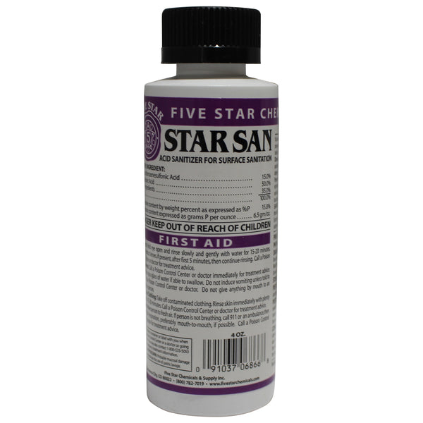 Star San Sanitizer-4 OZ  | Canuck Homebrew Supply