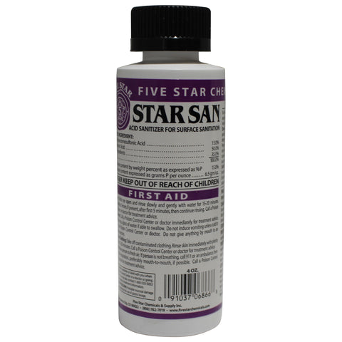 4 fl oz Star San Sanitizer