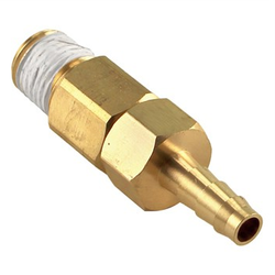 "Taprite Primary Regulator Outlet w/ Check 1/4"" NPT to 1/4"" Barb"