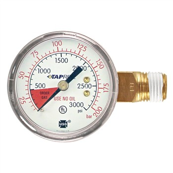 Taprite High Pressure Gauge (0-3000 PSI | Right)