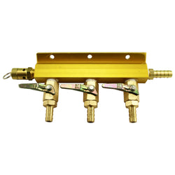 Taprite 3-Way Gas Manifold #1743S