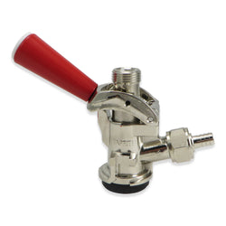 Sanke 'D' Keg Coupler (Red Handle) #CH5001