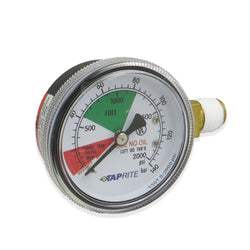High Pressure Gauge (2000PSI LHT) #6603-2000