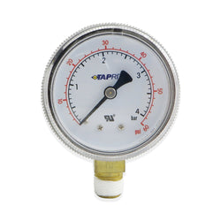 Low Pressure Gauge (60PSI RHT) #624